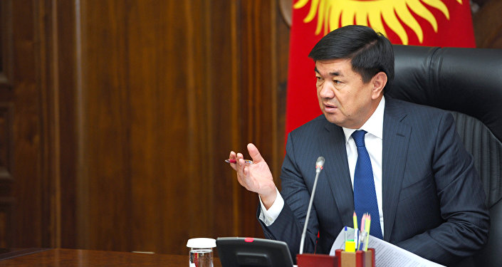 Премьер-министр Мухаммедкалый Абылгазиев берилген Жалпы жеңилдиктер тутуму (ВСП+) макамы алкагында Европа Биримдиги өлкөлөрүнө товарларды экспорттоо маселеси боюнча жумушчу кеңешме өткөрдү