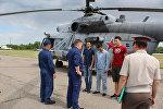 Тренировочный полет авиабазы ОДКБ Кант
