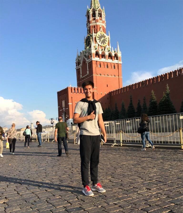 Студент МГИМО Мирхалил Касымов