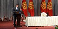 Президент Сооронбай Жээнбеков Талас облусунун тургундары менен жолугушуу учурунда