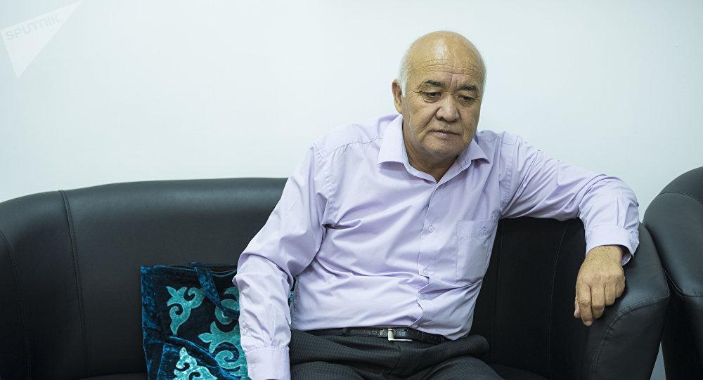 Турдали Кожоналиев, отец убитой в здании РОВД Жайыльского района девушки по имени Бурулай