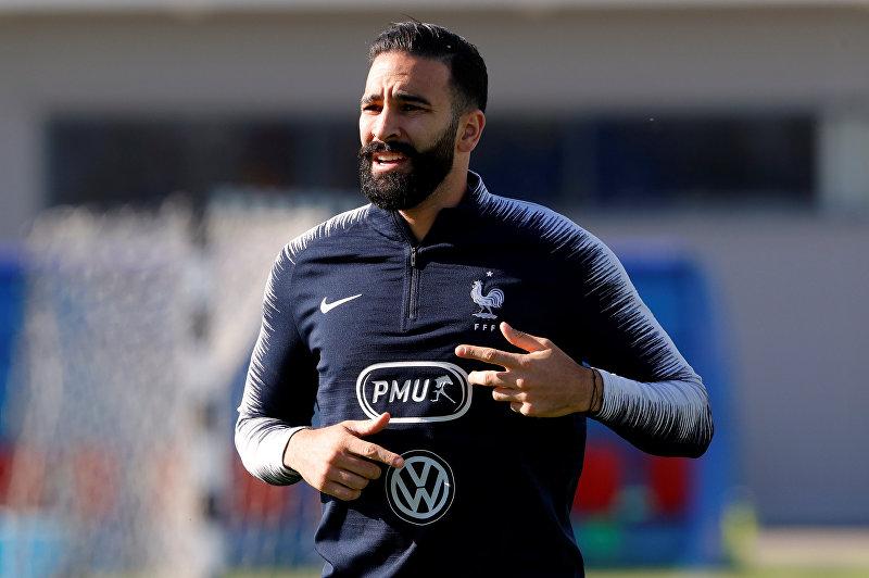 Полузащитник сборной Франции по футболу Адиль Рами