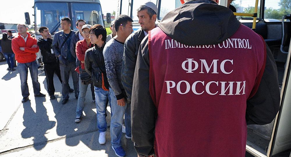 Россиядагы мигранттар. Архивдик сүрөт