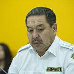 Начальник Управления правоохранительной работы Государственной таможенной службы Алмазбек Мамытбеков