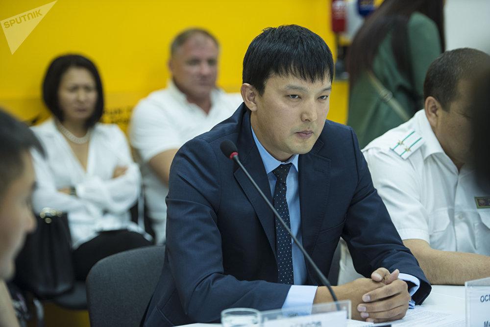 Президент Ассоциации птицеводов КР Рустам Осмоналиев