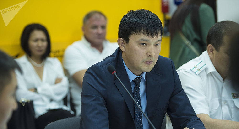 Председатель Ассоциации птицеводов КР Рустам Осмоналиев. Архивное фото