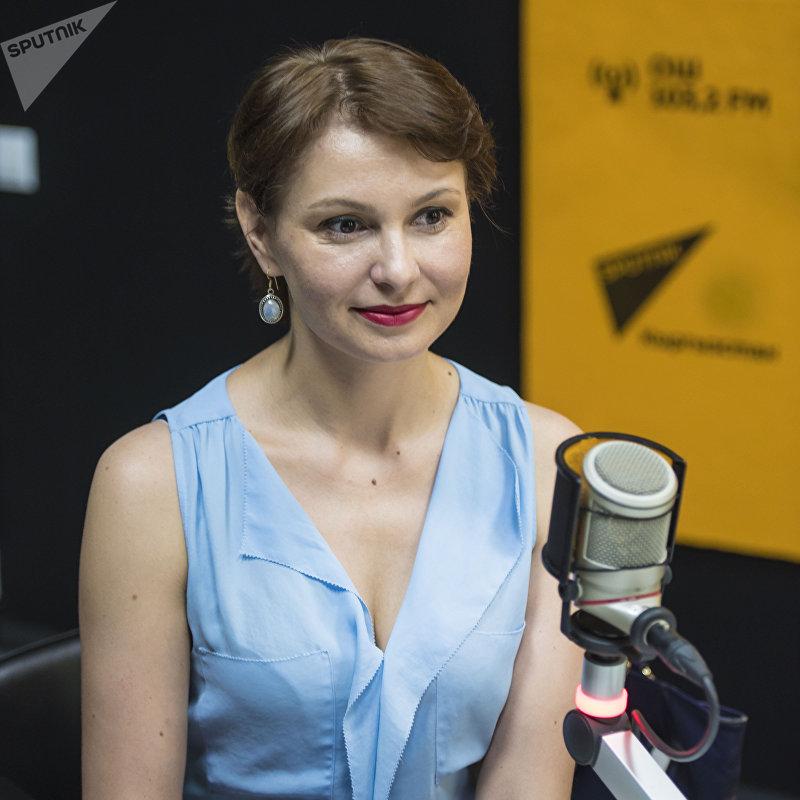 Генеральный директор компании Аргалис KG Мария Рахманова во время интервью