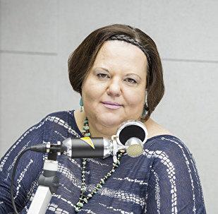 Директор центра юных натуралистов Чезара Корниенко