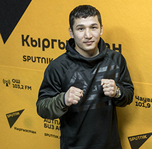 Кыргызстанский боксер Эржан Тургумбеков