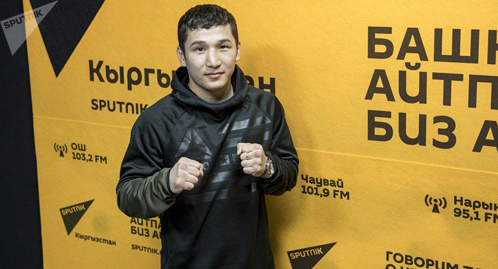 Кыргызстандык боксчу Эржан Тургумбеков. Архив