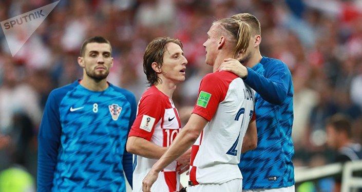 Однако во оставшееся время сборная Хорватии отыграться не сумела.
