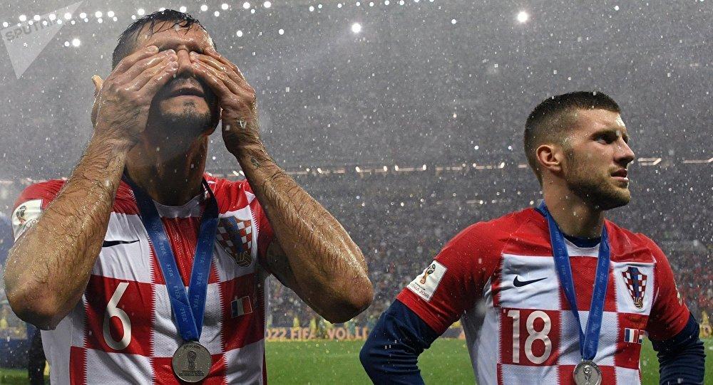 Хорватия курама команданын футболчулары. Архивдик сүрөт