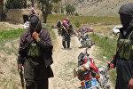 Афганистанда Талибан кыймылын мүчөлөрү. Архив