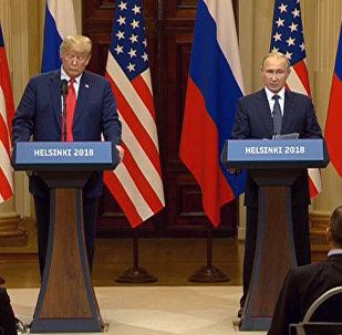 Live_Встреча Владимира Путина и Дональда Трампа в Хельсинки