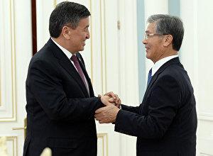 Президент КР Сооронбай Жээнбеков принял Шигето Танака