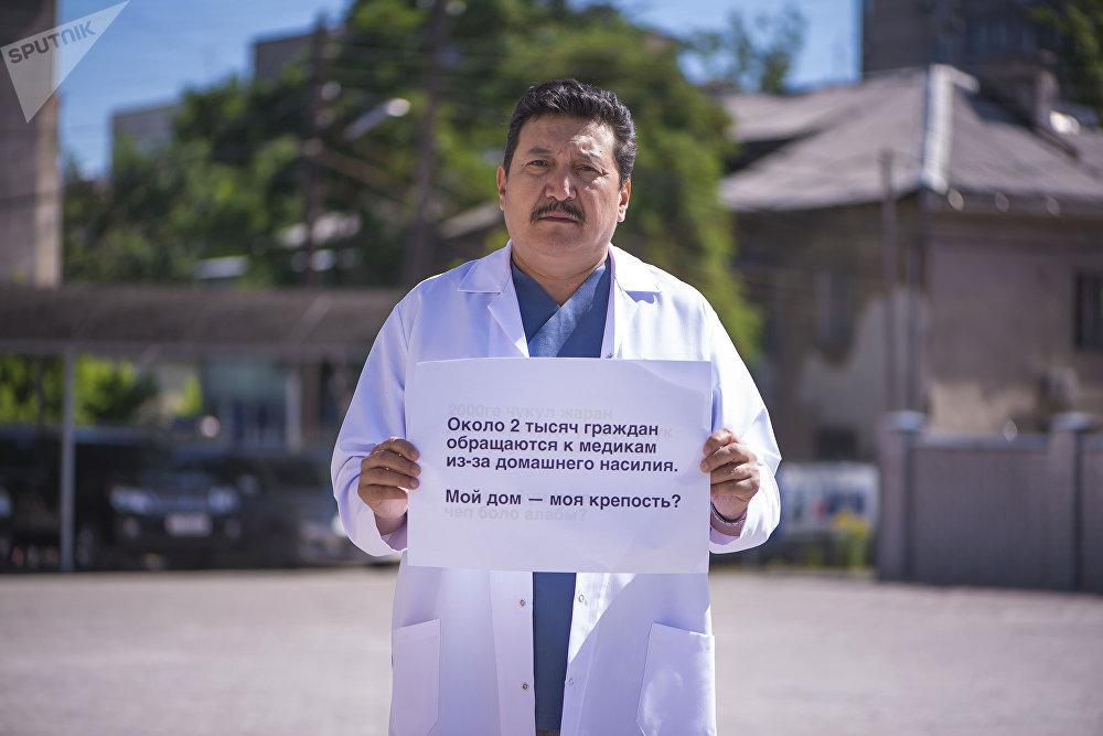 Доктор медицинских наук, профессор Турат Касымбеков