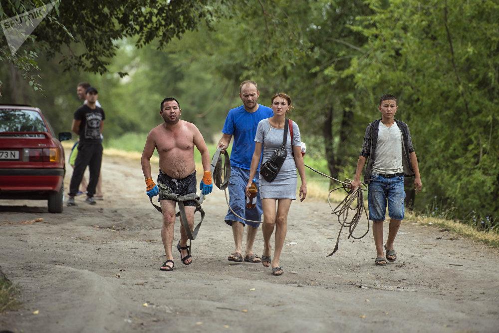 Операция по поиску шестилетнего Миши в БЧК в Бишкеке