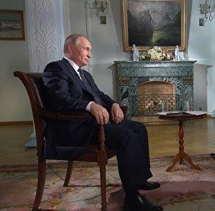 Фрагменты из интервью Путина телеканалу FOX