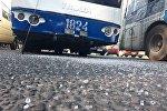 Троллейбус, попавший в дтп. Архивное фото