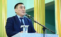 Новоизбранный мэр Оша Таалайбек Сарыбашев. Архивное фото