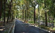В Бишкеке открыли парк имени Юлиуса Фучика после первого этапа реконструкции