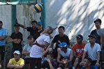Турнир по волейболу среди осужденных и сотрудников исправительной колонии № 3 в селе Новопокровка
