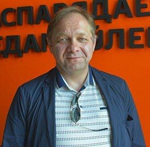 Доцент Московского государственного института международных отношений (МГИМО) Кирилл Коктыш во время беседы на радио