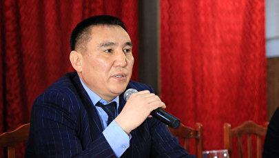 Новоизбранный мэр Оша Таалайбек Сарыбашев