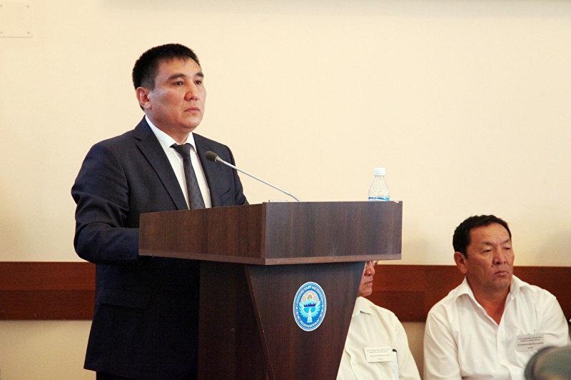 Ошской городской кенеш избрал Таалайбека Сарыбашева мэром