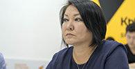 Консультант Минздрава КР по доказательной медицине Бермет Барыктабасова