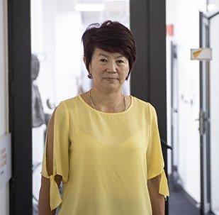 Улуттук Госпиталдын нефрология бөлүмүнүн башчысы Бурма Сарымсакова