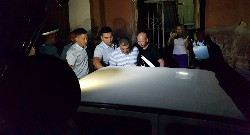 Арест экс-мэра Бишкека Албека Ибраимова