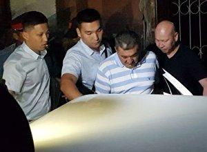 Первомайский районный суд арестовал экс-мэра Бишкека Албека Ибраимова до 29-августа