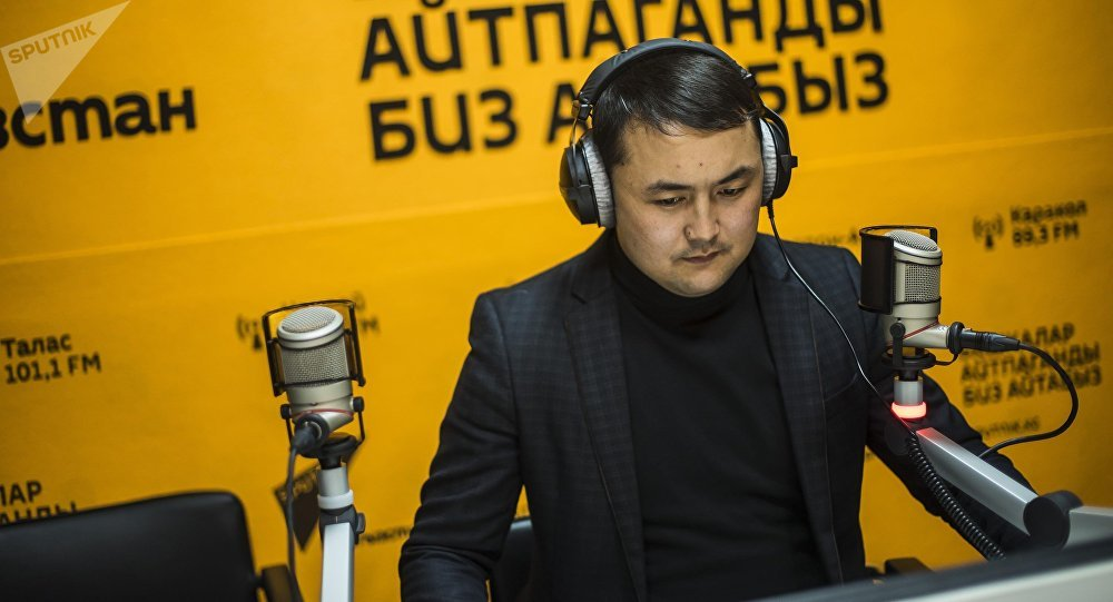 Корреспондент информационного агентства и радио Sputnik Кыргызстан Исмаил Мамытов
