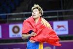 Чемпионка Азии среди кадетов Айпери Медет кызы