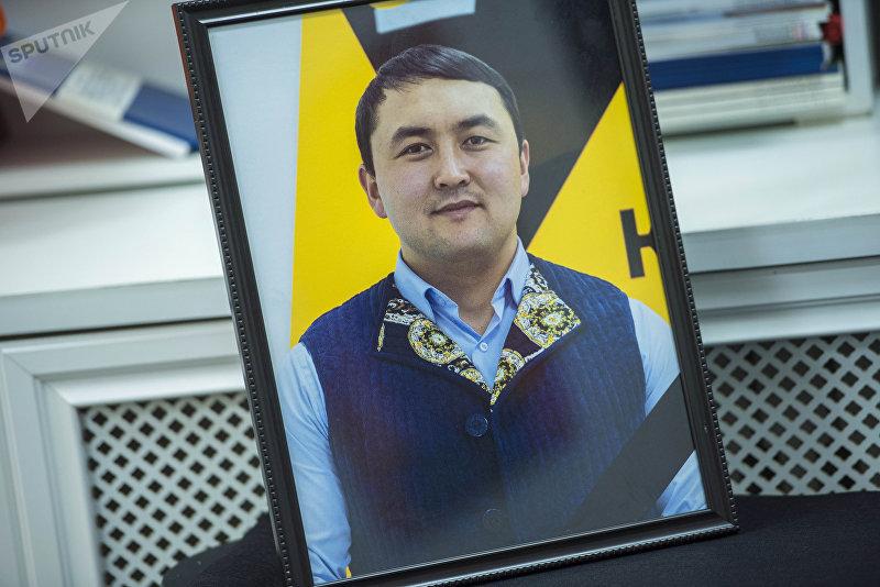 Портрет ведущего радио и журналиста информационного агентства Sputnik Кыргызстан Исмаила Мамытова