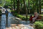 В Бишкеке открыли парк Молодежный после первого этапа реконструкции. Архивное фото