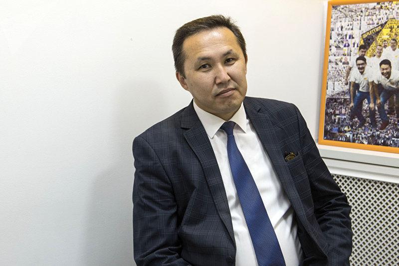 Заместитель председателя Государственного комитета информационных технологий и связи Эшмамбет Аматов