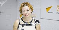 Врач дерматовенеролог-косметолог Ольга Омарова-Бахняну в эфире радиостудии Sputnik Молдова