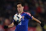 Архивное фото игрока сборной Хорватии Никола Калинича