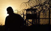 Изолятор Кэмп-Рэй в Гуантанамо