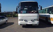 Ысык-Көл облусунун аймагында каттамга чыккан автобустун айдоочусунун мас экендиги аныкталды