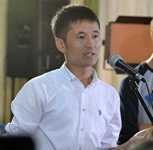 Азаттык үналгысынын кыргыз кызматынын журналисти Улан Эгизбаевдин архивдик сүрөтү