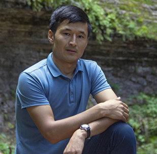 Ысык-Көлдө чөгүп каза болгон журналист Уланбек Эгизбаевдин архивдик сүрөтү
