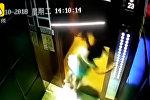 В Китае потусторонняя сила подняла девочку в воздух. Видео