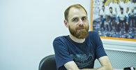 Аниматор мультипликационных фильмов Артем Кметь