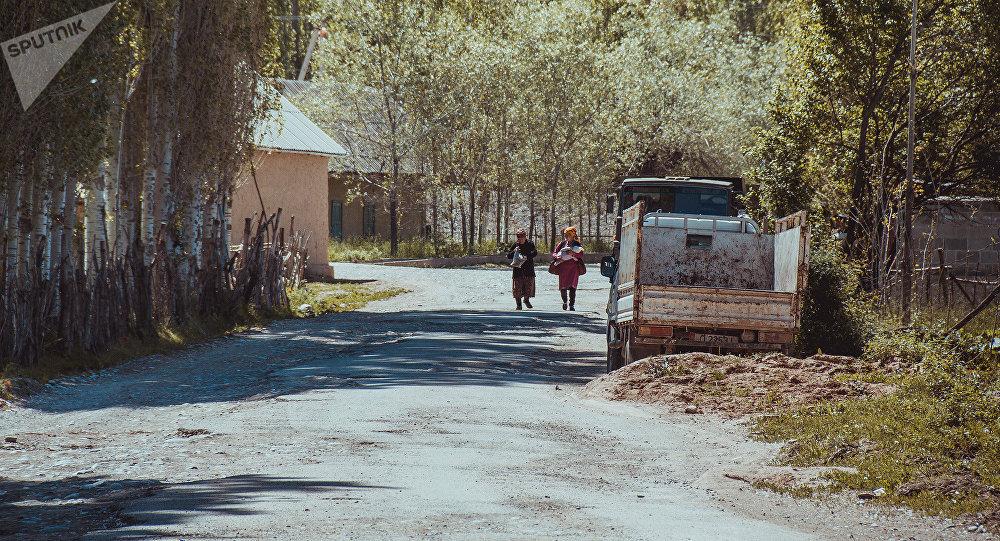 Кара-Булак айылы. Архивдик сүрөт