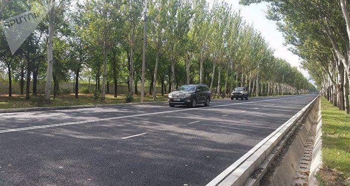 Открытие части проспекта Айтматова после ремонта