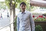 Кыргызстандык  27 жаштагы Канат Надырбек уулу белгилүү Мариинск театрынын солисти, премьер-балет