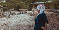 Ликвидация последствий схода селя в селе Катран Ляйлякского района Баткенской области. Архивное фото